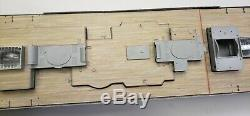 Wood Deck for 1/200 Titanic (fitsTrumpeter kit) by Scaledecks. Com LCD-25