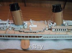 Wood Deck for 1/350 Titanic Academy or Minicraft kits by Scaledecks. Com