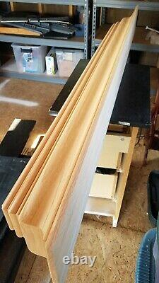 Wood Fireplace Mantel Shelf Decorative Trim Unfinished 6' 72 Complete New Kit