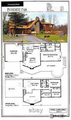 Yosemite Country 37x84 Customizable Shell Kit Home, delivered ready to build