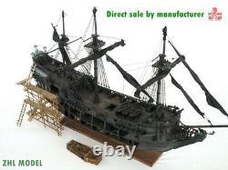 ZHL all-scenario version of the black pearl ship model kits 1-2 poles